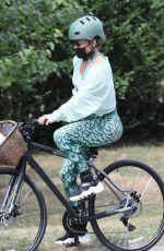 JENNIFER LOPEZ Out on Bike Ride in New York 07/30/2020