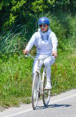 JENNIFER LOPEZ Out Riding a Bike in New York 07/08/2020