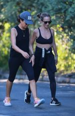 JENNIFER MEYER Out Hiking with a Friend in Santa Monica 07/10/2020