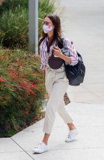 JESSICA ALBA Heading to Honest Company in Los Angeles 07/28/2020