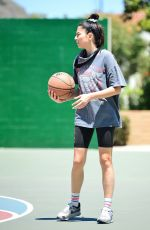 JESSICA GOMES Playing Basketball in Los Angeles 07/05/2020