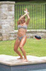 JESSIE JAMES in Bikini at a Pool in Nashville 07/30/2020