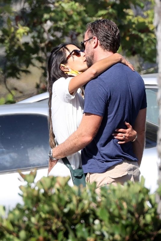 JORDANA BREWSTER and Mason Morfit Out Kissing in Los Angeles 07/17/2020