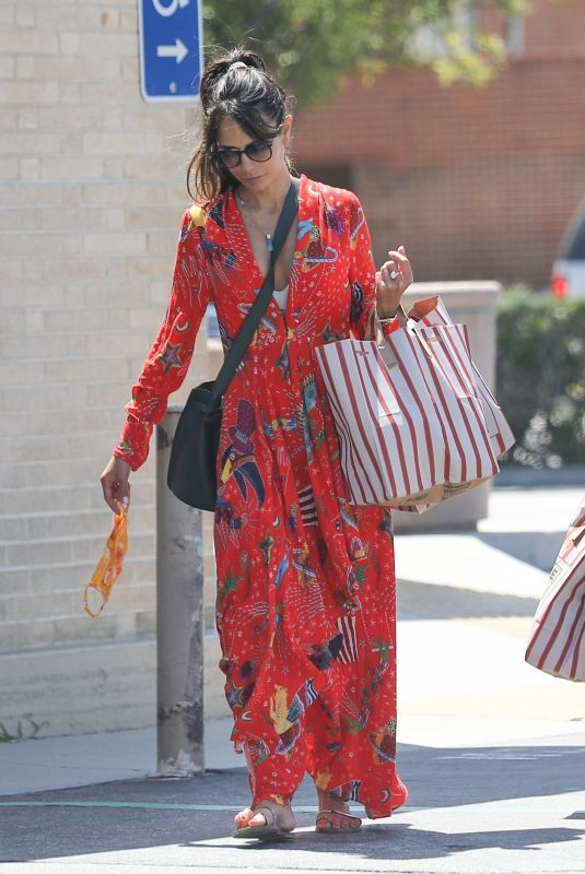 JORDANA BREWSTER Out Shopping in Brentwood 07/13/2020