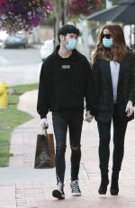 KATE BECKINSALE and Goody Grace Out in Pacific Palisades 06/30/2020
