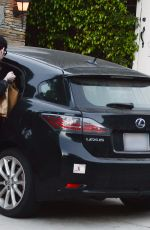 KATE BECKINSALE Leaves Her Home in Pacific Palisades 07/10/2020