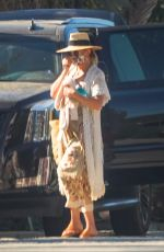 KATE HUDSON Leaves a Friends House in Malibu 07/09/2020