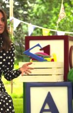 KATE MIDDLETON at Says Hello To Tiny Happy People in London 07/14/2020