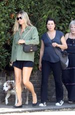 KATE MOSS Out in London 07/21/2020