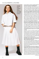 KATHERINE LANGFORD in Grazia Magazine, Italy July 2020