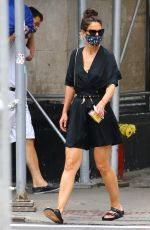 KATIE HOLMES Out in New York 07/15/2020