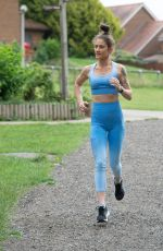 KATIE WAISSEL Workout at a Park in London 07/13/2020