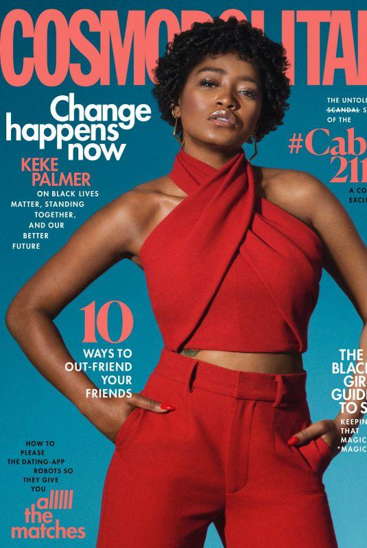 KEKE PALMER in Cosmopolitan Magazine, August 2020