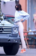 KENDALL JENNER Leaves Kate Somerville in West Hollywood 07/22/2020