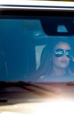 KHLOE KARDASHIAN Out Driving in Malibu 07/23/2020