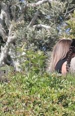 KIM KARDASHIAN on the Set of Keeping Up with the Kardashians in Malibu 07/22/2020