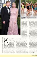 KIRSTEN DUNST in Fairlady Magazine, August 2020