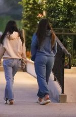 KOURTNEY KARDASHIAN and ADDISON RAE Leaves Taverna Tony in Malibu 07/29/2020