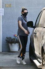 KRISTEN STEWART Wearing Bandana Mask Out in Los Angeles 07/16/2020