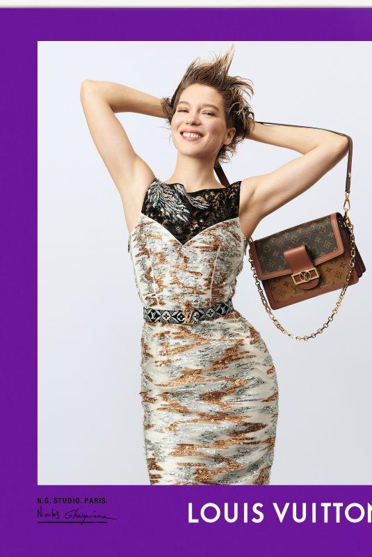 LEA SEYDOUX for Louis Vuitton, Fall 2020