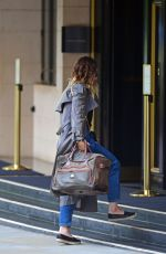LILY JAMES Arrives at Dorchester Hotel in London 06/30/2020