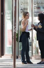 LILY-ROSE DEPP and LEILA BEKHTI at Cafe Quartier General in Paris 07/20/2020