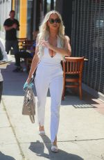 LINDSEY PELAS Out for Lunch at Sugar Taco in Los Angeles 07/10/2020