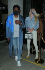 LINDSEY VONN and P. K. Subban at Catch LA in West Hollywood 07/25/2020