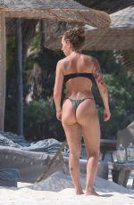 LIZA LASH in Bikini at a Beach in Tulum 07/15/2020