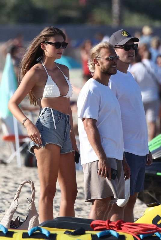 LORENA RAE Out on the Beach in France 07/25/2020