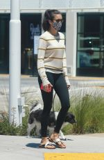 LUCY HALE and NINA DOBREV Out in Los Angeles 07/18/2020