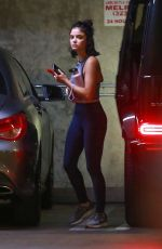 LUCY HALE Arrives at a Private Workout Session in Los Angeles 07/17/2020