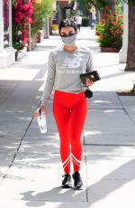 LUCY HALE Out and About in Studio City 07/02/2020