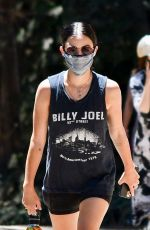 LUCY HALE Out Hiking at Laurel Canyon in Los Angeles 07/19/2020
