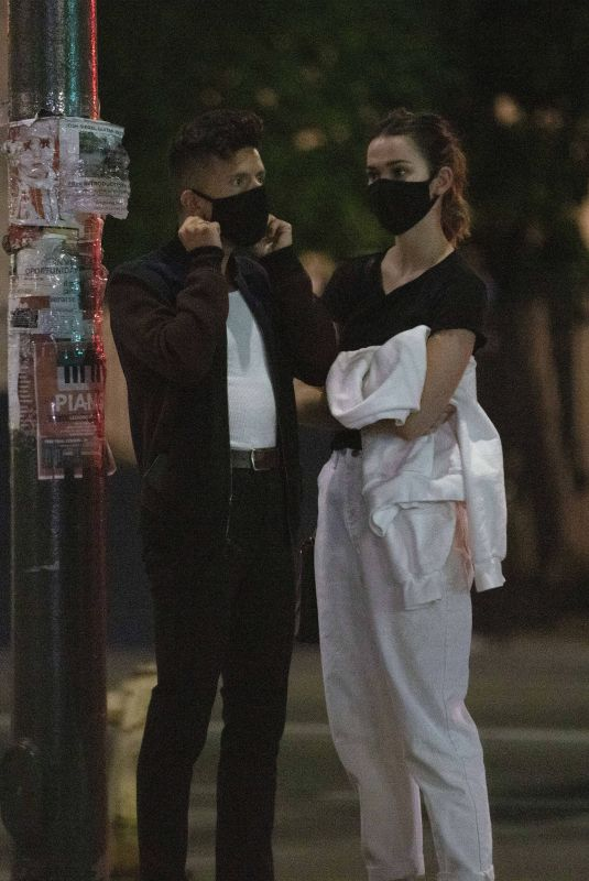 MAIA MITCHELL and Rudy Mancuso at La Poubelle in Los Angeles 07/24/2020