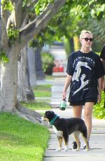 MAIKA MONROE and Joe Keery Out with Their Dog in Beverly Hills 05/16/2020
