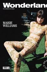 MAISIE WILLIAMS in Wonderland Magazine, Summer 2020