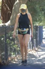 MALIN AKERMAN Out and About in Los Feliz 07/18/2020