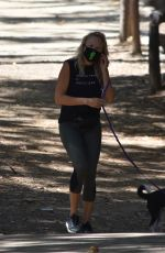 MALIN AKERMAN Out Hiking with Her Fog in Los Feliz 07/13/2020