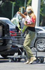 MALIN AKERMAN Out Shopping in Los Feliz 07/04/2020