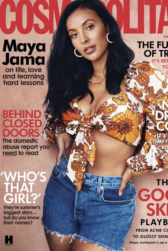 MAYA JAMA in Cosmopolitan Magazine, UK September 2020