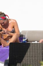 MEGAN and MILLY MCKENNA in Bikinis in Spain 07/21/2020
