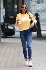 MELANIE SYKES Arrives at BBC Studios in London 07/18/2020