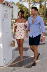 MICHELLE KEEGAN Out in Marbella 07/17/2020