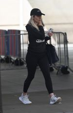 MOLLIE KING Leaves BBC Radio One in London 07/05/2020