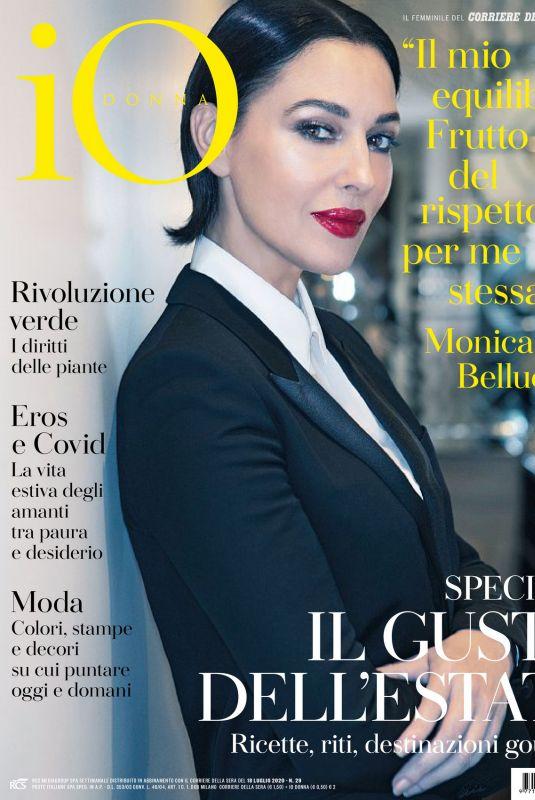 MONICA BELLUCCI in Io Donna Del Corriere Della Sera, July 2020