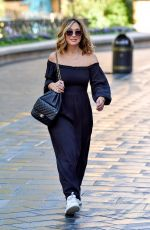 MYLEENE KLASS Arrives at Global Studios in London 07/29/2020