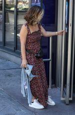 MYLEENE KLASS Arrives at Global Studios in London 07/30/2020