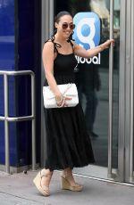 MYLEENE KLASS Arrives at Smooth Radio Studios in London 07/01/2020