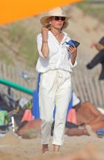 NAOMI WEATTS Out at a Beach in The Hamptons 07/28/2020